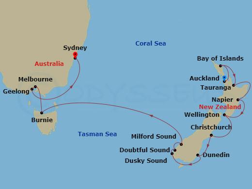 RSSC Australia Luxury Cruise