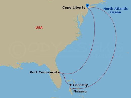 Caribbean Map RT CPL