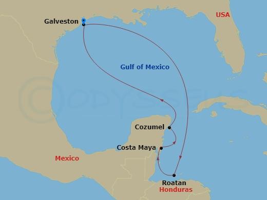 Caribbean Map RT GAL