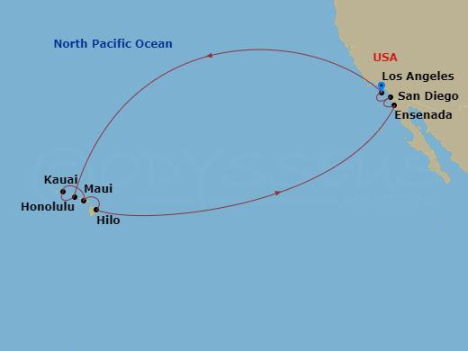 PRI 15 Night Hawaii LAX to LAX Star Princess
