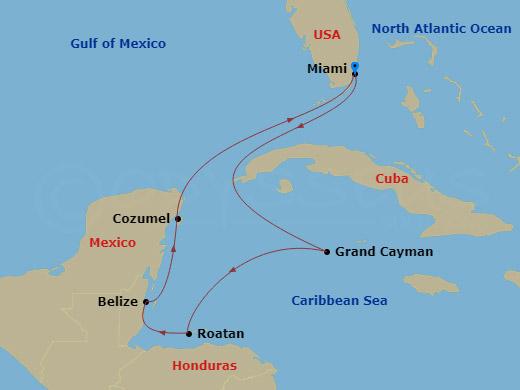 7 Night Caribbean FLL to FLL Caribbean Princess