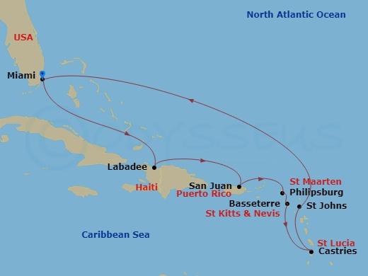 Caribbean Map RT FLL