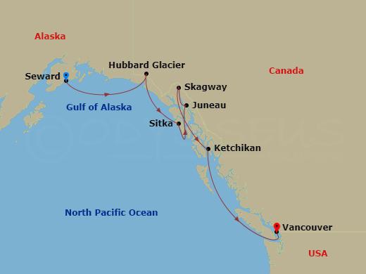 RSSC Luxury Alaska Cruise