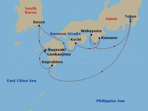 8 Night Japan YOK to YOK Diamond Princess